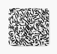 """Callig. Art"" iPhone Wallets by wowarts 