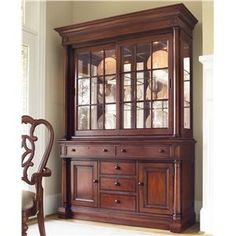 Thomasville® Fredericksburg China Cabinet With Touch Dimmer Lighting    Sprintz Furniture   China Cabinet