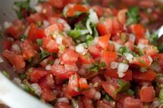 Homemade Pico de Gallo - Blogging Over Thyme