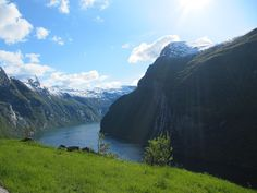Geirangerfjord (a picture taken on a trip along the fjord)