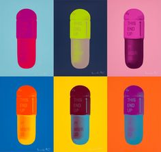 damien hirst pill print - Google Search