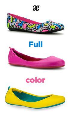 ¿Cuál color es tu favorito? #flats #colors #shoes