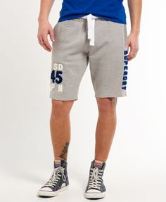 Superdry Short Appliqué Offset