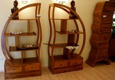 Teak Furniture Wooden Shelves Retail Display from Java Indonesia. bali furniture