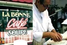 Le Bonne Cafe (Sacramento, CA) - Terrific French sandwich cafe run by an old Frenchman. Just expect a long wait. Update: Unfortunately it closed down, not from lack of business, I will add.