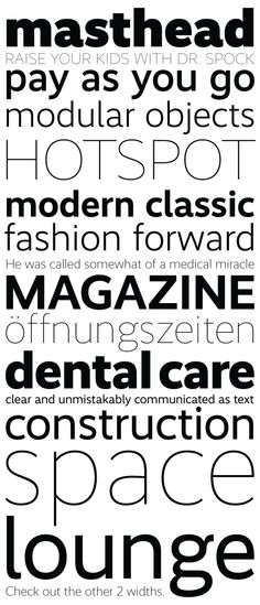 Font, Grotesque, Realist, by Martin Wenzel, via Kombinat Typerfounders