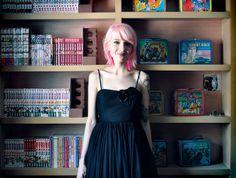 In the library (I still need buy a light socket cover). by Sherri DuPree Bemis, via Flickr