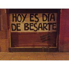 HOY ES DIA DE BESARTE
