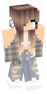 Bandana Girl Skin Minecraft Iskins Pinterest Bandana - Skin para minecraft pe estiloso