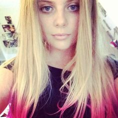 Bea , my daughter has dip dyed her hair and amazingly I love it!!
