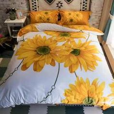 What decor over the bed?