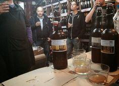 CERVEZA YAÑEZ imaginada al alimón con ORDIO MINERO.Espíritus afines creando nueva original cerveza: La Cata de Cervezas de ayer, cata de mañana, ofert...