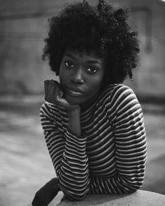 @sensaysha captured by @phobymo || portrait. Black women. Black curls. Photography.