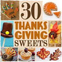 Fun Thanksgiving Treats For Kids