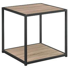 End Table - Oak/Black - shows more content