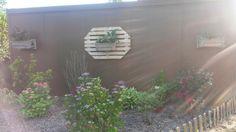Portes jardinières en palette