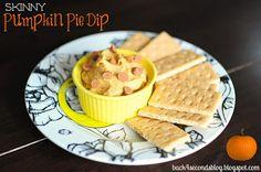 Skinny Pumpkin Pie Dip - Back for Seconds