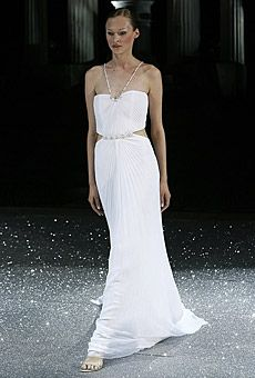 See photos of affordable and designer wedding dresses and browse by silhouette, neckline, fabric, sleeve type and more, all on Brides. European Wedding Dresses, Wedding Dresses Photos, Designer Wedding Dresses, Types Of Sleeves, Wedding Styles, One Shoulder Wedding Dress, Neckline, Bride, Beautiful