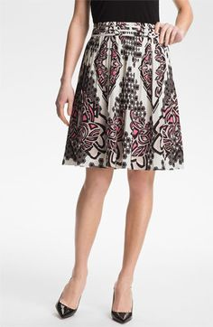 Adrianna Papell Pleated Skirt available at Nordstrom
