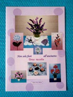 Libro degli schemi Non solo fiori all'uncinetto
