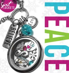 #Peace #Love and Spirit #Lockets! #Christmas #Bright