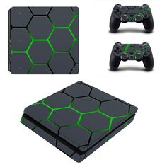 >> Click to Buy << Green Color Custom Sticker Vinyl Cover For Sony Playstation 4 Slim Console skin and For PS4 Silm 2 Controller Skin Ps4 Accessory #Affiliate