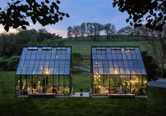 Gorgeous greenhouses!