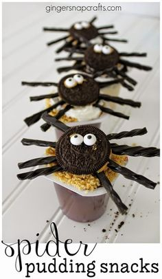 Spider Pudding Snacks #SnackPackMixins #collectivebias #shop