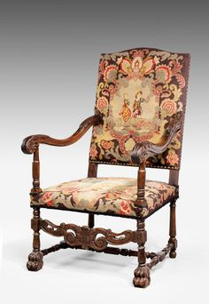 17th Century Style Chair (Ref No. 7108) - Windsor House Antiques