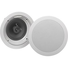 "Klipsch - 6-1/2"" Architectural In-Ceiling Speaker (Each)  Model: R-1650-C SKU: 9939305 Customer Rating:      5.0  (8 customer reviews)"