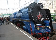 The Trans-Siberian Express. Ooh trains!