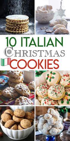 10 Italian Christmas cookie recipes – Italian desserts – # – Famous Last Words Italian Christmas Cookie Recipes, Italian Cookie Recipes, Italian Cookies, Holiday Recipes, Italian Christmas Dinner, Christmas Recipes, Italian Christmas Traditions, Italian Snacks, Italian Wedding Cookies