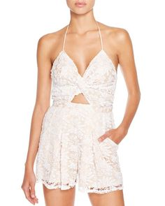 6 Shore Road Skinny Dippers Romper Swim Cover Up