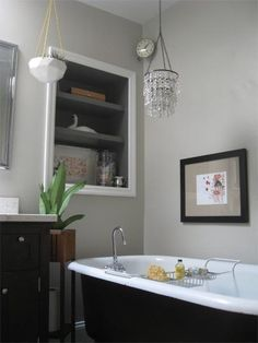 love grey bathrooms