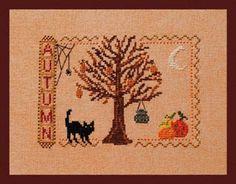 Autumn - Cross Stitch Pattern