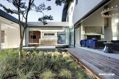 Contemporary: Mill House, South Africa by SAOTA