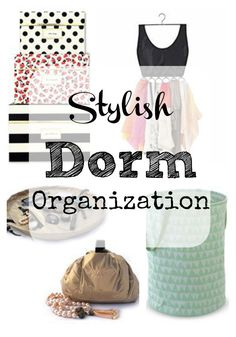 Stylish Dorm Organization | Overdue Organizing [ Featured at the #HomeMattersParty 48