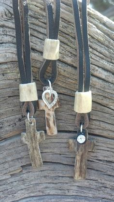 Antler Cross Necklaces.. www.gilatrophyoutfitters.com