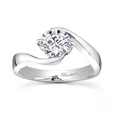 Round Solitaire Engagement Ring - 7499LW