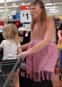 Skirt for Boobs - Funny Pictures at Walmart I'm repining this so I can look at the rest of the funny pics later