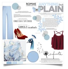 """Blue.❤️"" by diamondpuppy125 ❤ liked on Polyvore featuring Rupert Sanderson, Christopher Kane and Henri Bendel"