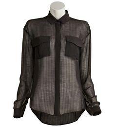 Anthony Vaccarello-Large Pocket Shirt ashlee@justoneeye.com