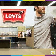 Our exhibit for Levi's at PROJECT | MAGIC in Las Vegas used our Ecoflex™ Thunder architecture to create ultra-long fabric spans outside of their exhibit. They also used Ecoflex™ Thunder inside their walls with plywood, neon, canvas, aluminum and fabric infill.