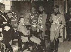 Joseph Goebbels and Nazi officers, Italy 1943 [1242 x 907] - Imgur