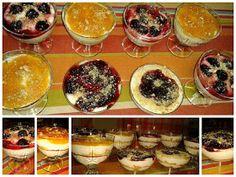 ΜΑΓΕΙΡΙΚΗ ΚΑΙ ΣΥΝΤΑΓΕΣ: Γλυκό στο ποτήρι γρήγορο & εύκολο !!! Cheesecake Desserts, Dessert Recipes, Greek Sweets, Greek Recipes, Panna Cotta, Pudding, Vegan, Cookies, Ethnic Recipes