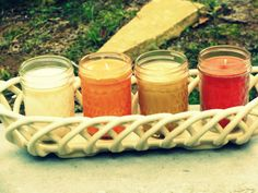 6 oz. Soy Candles in a Jelly Jar. http://www.facebook.com/WindsorHillsWL
