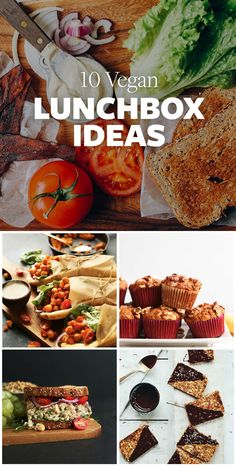 I've gathered 10 easy lunchbox ideas to help you in the first few weeks of back-to-school and keep you fuelled as you hit the books again! (click the pictures or links below to find the recipes) Happy studying!