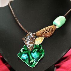 """Collier opale boulder d Australie """" Le miraculé """" : Collier par de-l-opale-aux-etoiles"""