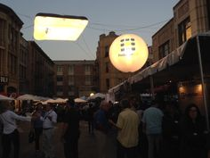 Cine Gear Expo 2014 Update - Airstar and ProductionHUB.com balloon lights showing us the path. — at Paramount Studios.  #movingpicture #productionhub #airstar #cinegearexpo