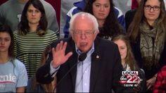 Sen. Bernie Sanders campaigns in the Granite State